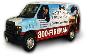 Chimney Service Van in Alexandria